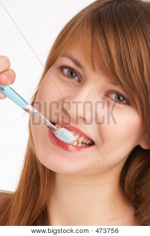 Brushing Teeth I