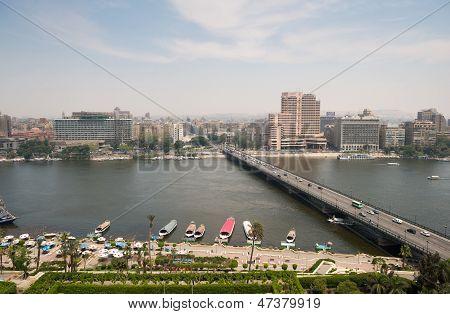 Ansicht der Stadt Cairo