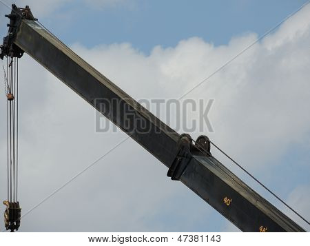 Crane Boom with Extension