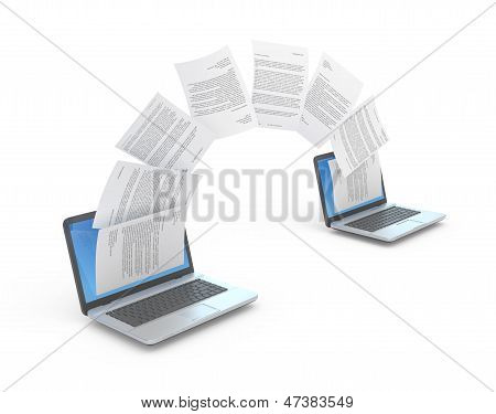 Files Transferring.