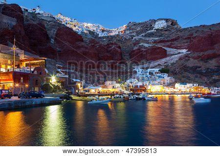 Ammoudi Bay Oia Santorini