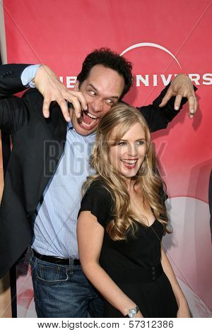 Diedrich Bader and Pippa Black at the NBC Summer Press Tour Party, Beverly Hilton Hotel, Beverly Hills, CA. 07-30-10