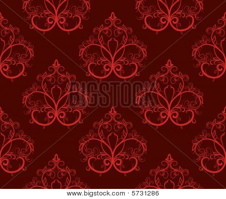 Red seamless pattern with a repeating pattern