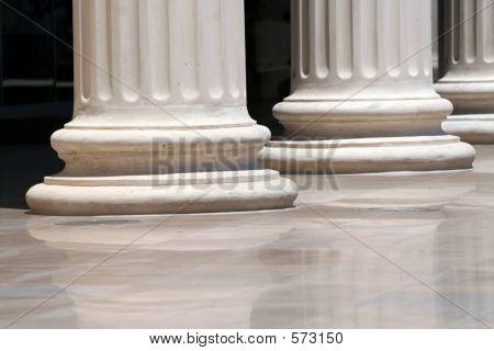 Columns - Greek Doric-style Base