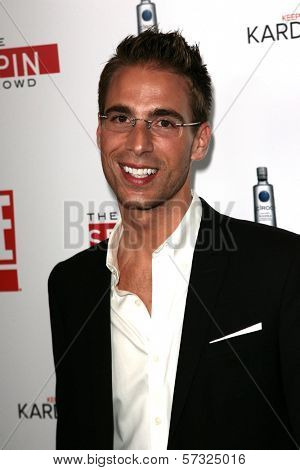 Simon Huck at the  'Keeping Up with the Kardashians/The Spin Crowd' Series Party, Trousdale, West Hollywood, CA. 08-19-10