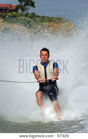 Barefoot Skiing...