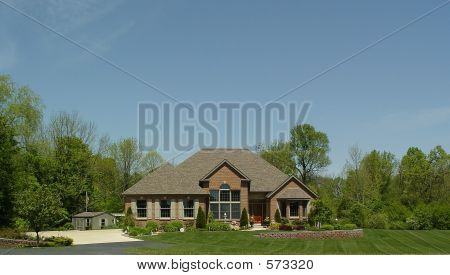 New Home Under Big Sky