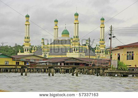 Kampong Ayer, Bandar Seri Begawan, Brunei, Southeast Asia