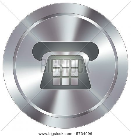 Modern Telephone Button