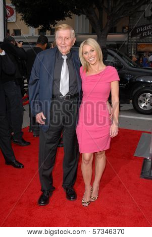 Sumner Redstone at the Premiere of CBS Films'