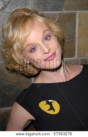 Dana Daurey  at Jennifer Blanc-Biehn's Birthday Party, Sardos, Burbank, CA. 04-23-10