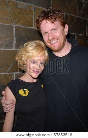 Dana Daurey and Gil Cates Jr. at Jennifer Blanc-Biehn's Birthday Party, Sardos, Burbank, CA. 04-23-10