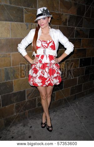 Phoebe Price at Jennifer Blanc-Biehn's Birthday Party, Sardos, Burbank, CA. 04-23-10