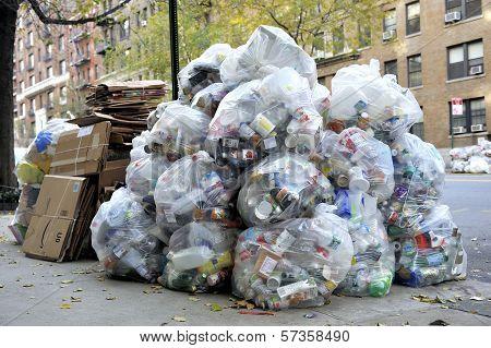 Big Pile Of Waste Garbage