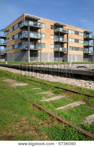 Flats And Train Track