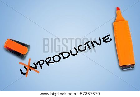 Unproductive Word