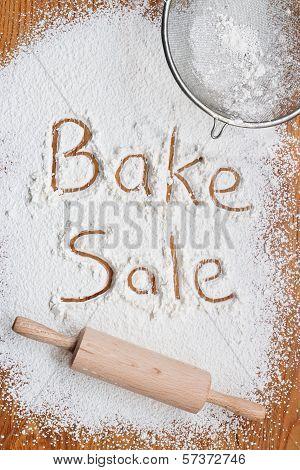 Bake Sale Poster
