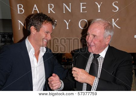 Rande Gerber and Jerry Weintraub  at a celebration of Jerry Weintraub's New Book