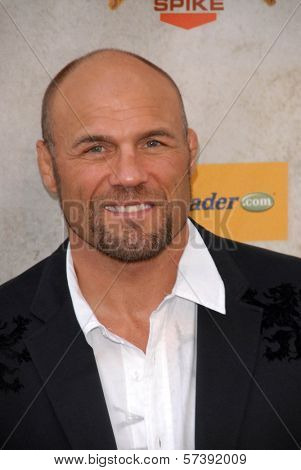 Randy Couture at Spike TV's 4th Annual