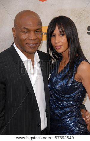 Mike Tyson and wife Lakhia Spicer at Spike TV's 4th Annual