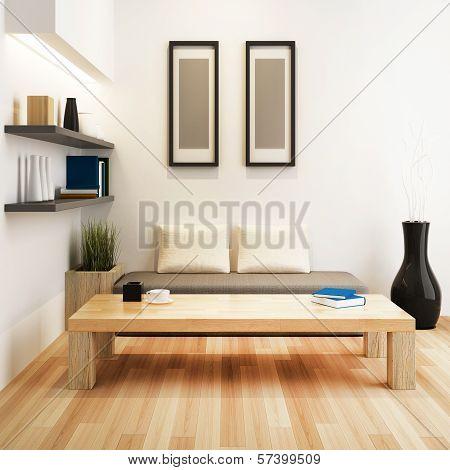 Living Room Of Interior Design