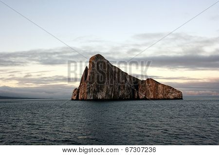 An Island in the Galapagos.