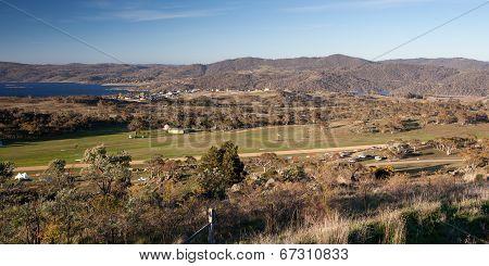 View over Jindabyne