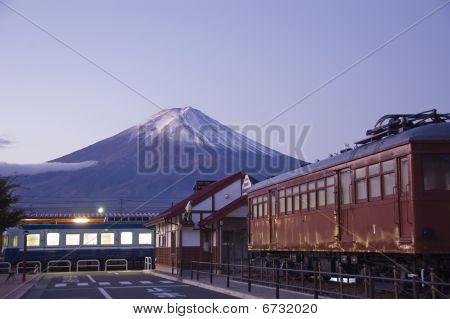 Mt Fuji At Dawn.