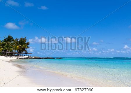 Ocean View With Clear Turquoise Clear Water