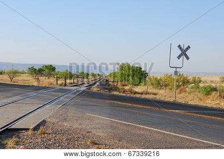 Railroad crossing Alpine, TX