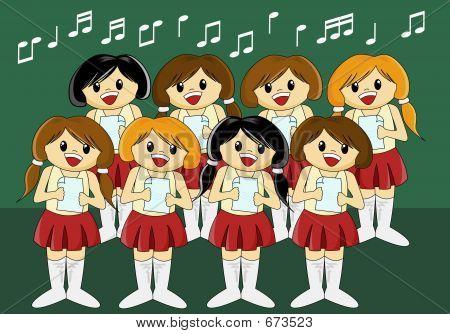 Cute Girls' Choir