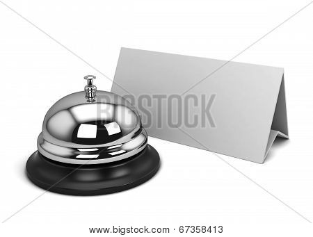 Reception Bell And Card