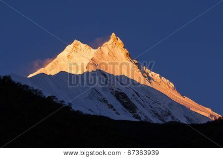 Sunrise At Manaslu