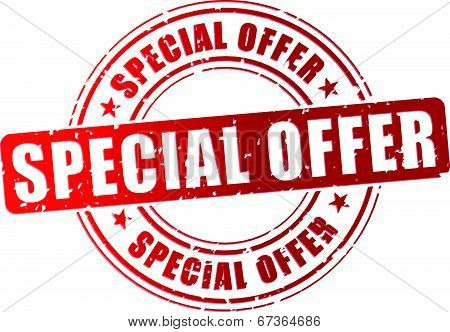 Vector Special Offer Stamp