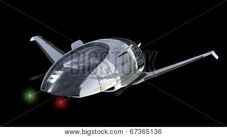 Drone design of surveillance spacecraft