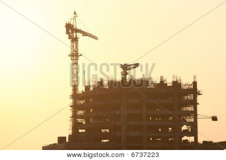 Construction Site In Dubai