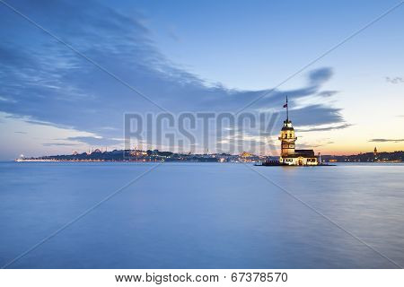 Maiden's Tower Istanbul Landscape