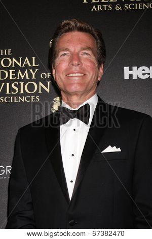 LOS ANGELES - JUN 22:  Peter Bergman at the 2014 Daytime Emmy Awards Arrivals at the Beverly Hilton Hotel on June 22, 2014 in Beverly Hills, CA
