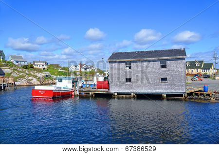 Typical fisherman shack