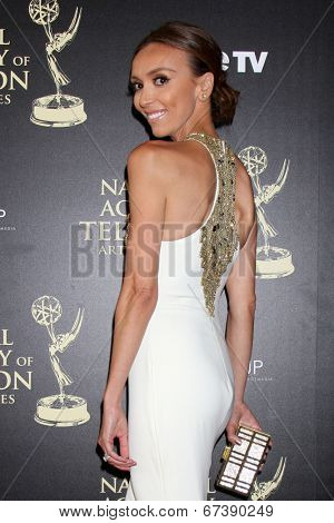 LOS ANGELES - JUN 22:  Giuliana Rancic at the 2014 Daytime Emmy Awards Arrivals at the Beverly Hilton Hotel on June 22, 2014 in Beverly Hills, CA