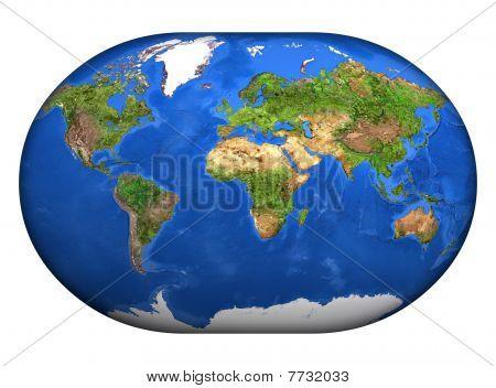 The Mapa Mundi 3D