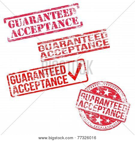 Guaranteed Acceptance Stamps