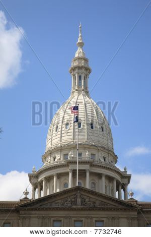 Michigan Capitol Building Dome