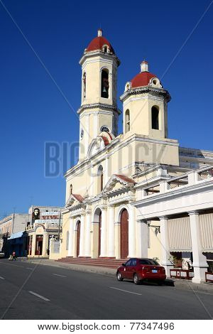 The cathedral of Cienfuegos, Cuba