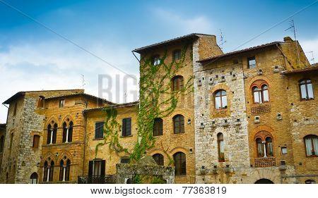 San Gimignano Historical Buildings