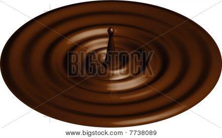 chocolate or caramel ripple
