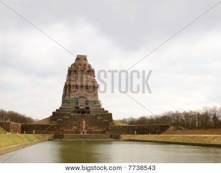 Memorial Völkerschlachtdenkmal in Leipzig, Germany