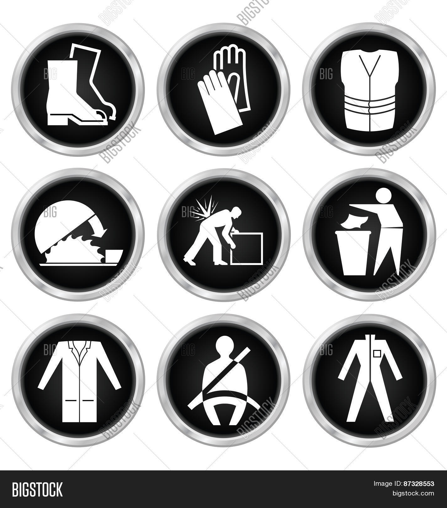 Health Safety Icons Vector Photo Free Trial Bigstock Ready to be used in web design, mobile apps and presentations. health safety icons vector photo