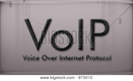 Voip In Pastel Color