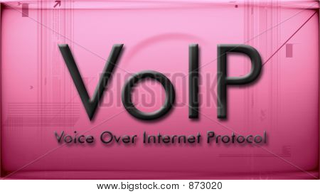 Voip In Pink